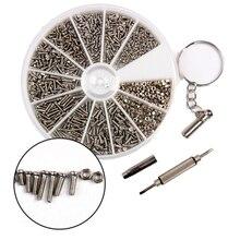 Vis en acier inoxydable + 1 pièce   Tournevis, Micro lunettes de téléphone portable, vis et écrous boîte de bricolage 1000 pièces/lot