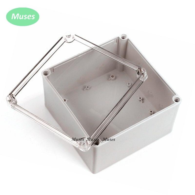 صندوق عزل بلاستيكي مقاوم للماء IP67 ، حاوية مقاومة للماء مع موصل ، 125 × 125 × 100 مم