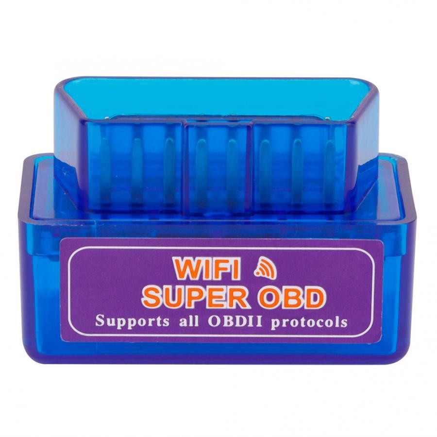 C12 V1.5 WIFI Мини автоматический сканер Супер OBD Автомобильный диагностический интерфейс сканирующий инструмент адаптер Авто диагностический инструмент