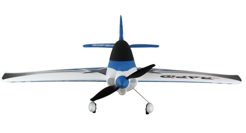 Dynam 635mm EPO rápida carrera RC SRTF hélice de avión modelo W/ Motor ESC Servos de TH03610