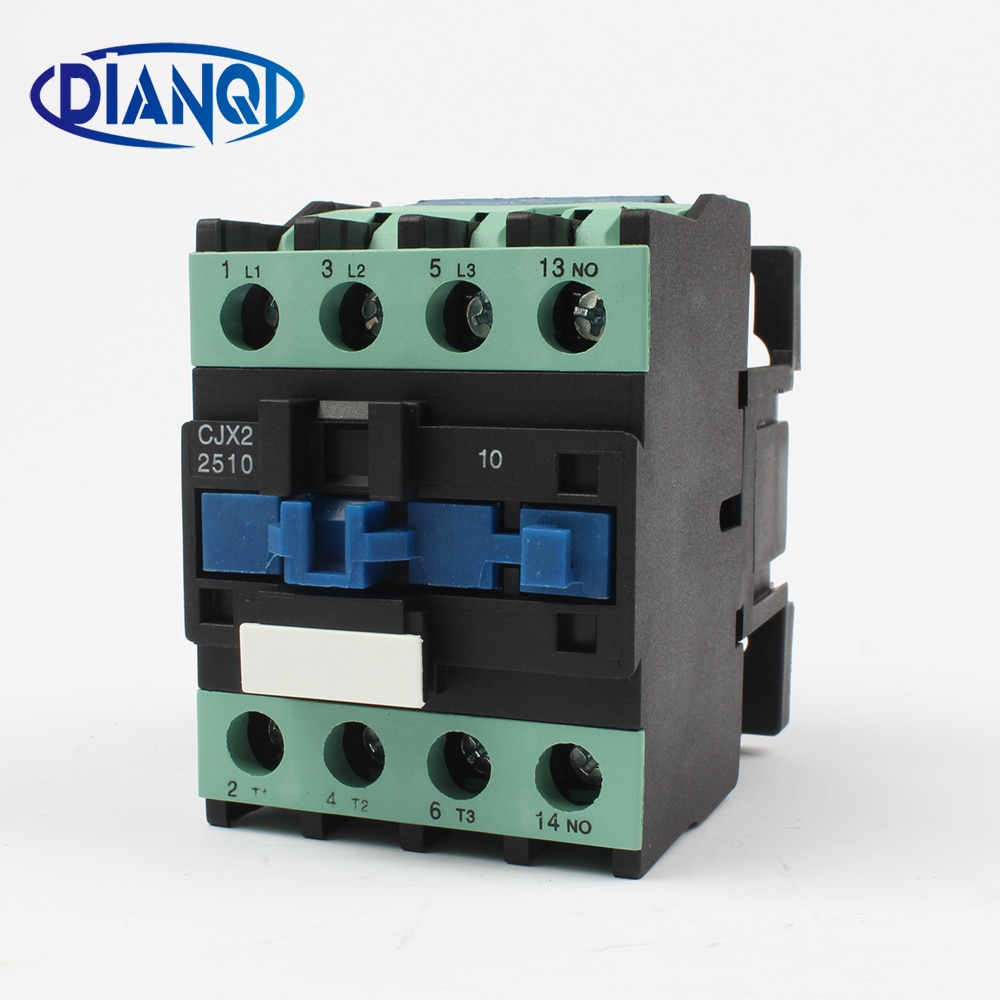 CJX2-2510 LC1-D ac contactor V 24 V 36 V 48 V 110 V 220 V 380 V 50 HZ/60 carril Din de HZ montado 3 P + 1NO uso con interruptor de flotador original