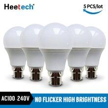 Lampe de Table projecteur 3W 5W 7W 9W 12W 15W 18 W, lot de ampoules de LED, lampe 110V 220V 230V
