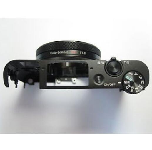 Новая передняя внешняя крышка корпуса в сборе для Sony Cyber-shot DSC-RX100 IV RX100 M4 с кнопкой переключения режимов