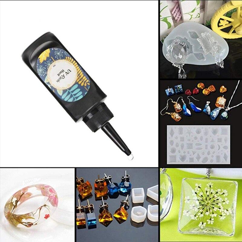 Uv Solar Cure resina ultravioleta Curings resina luz Solar activada luz Solar artesanía transparente ornamento
