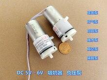 Pompe à vide Miniature Nwe 5V-6VDC   Mini pompe à Air, pompe à moteur 100KPa 370