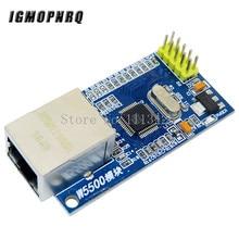 W5500 Ethernet modulo di rete hardware TCP/IP 51/STM32 programma microcontrollore oltre W5100