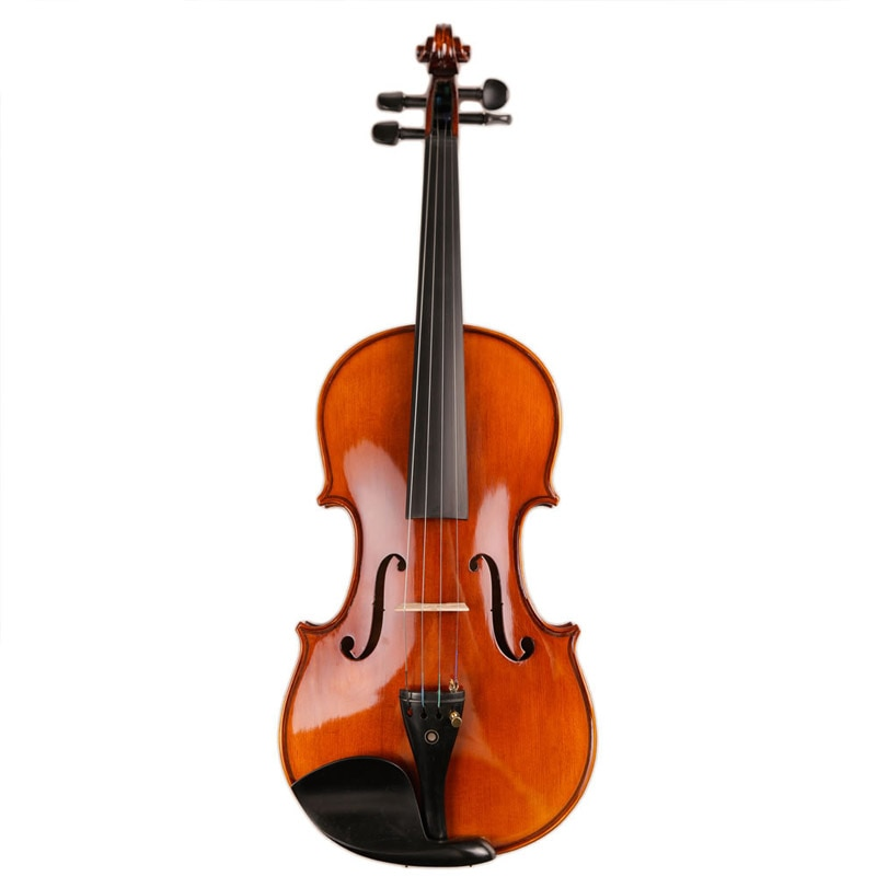 Professional violin Handcraft 4/4 Acoustic Violin Natural wood Violino With Case Mute Bow Manual oil varnish Fiddle Ebony Fitted 1 8 kids children natural acoustic violin fiddle with case bow rosin musical instrument gifts