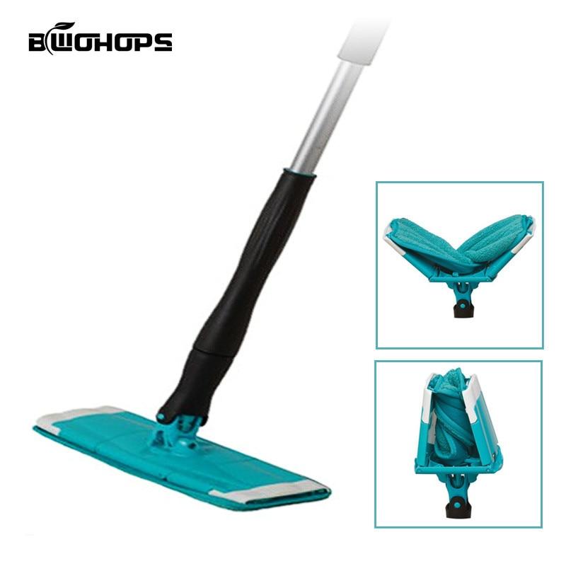 Rotating Mop 360 Self-wringing Twist Swabs Floor Dust Rubbish Cleaner Easy Bucket Dust Magic Microfiber Swabs Free Hand Washing