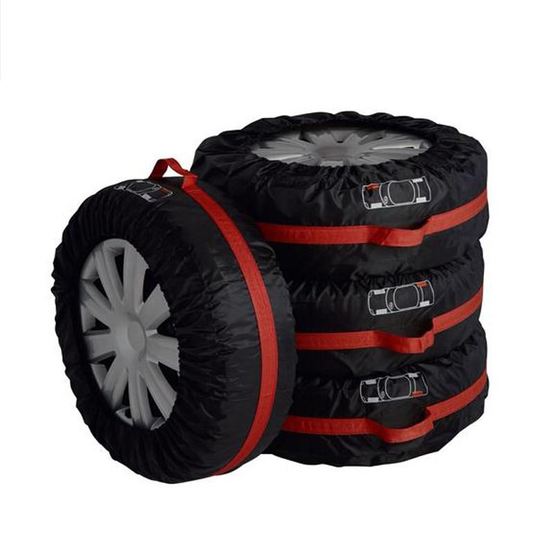 CHIZIYO 4 шт. Универсальная автомобильная запасная крышка для шин от солнца Пыленепроницаемая Полиэстеровая защита шин аксессуары для колес дл...