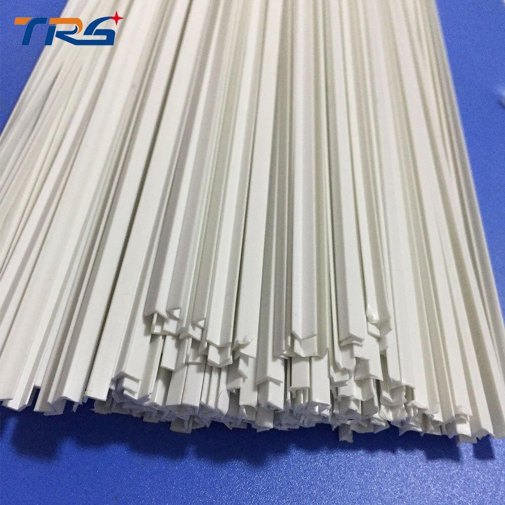 Гладкие l-образные весы из АБС-пластика, диаметр специальной формы 3,0*3,0 мм, длина 50 см, брусок для изготовления архитектурных моделей