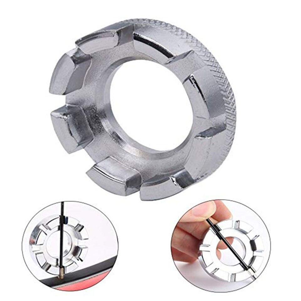 Мини цикл говоря ниппель ключ велосипед обод колеса велосипеда 8 способ гаечный ключ инструмент для ремонта велосипеда Прочный портативный ручные инструменты