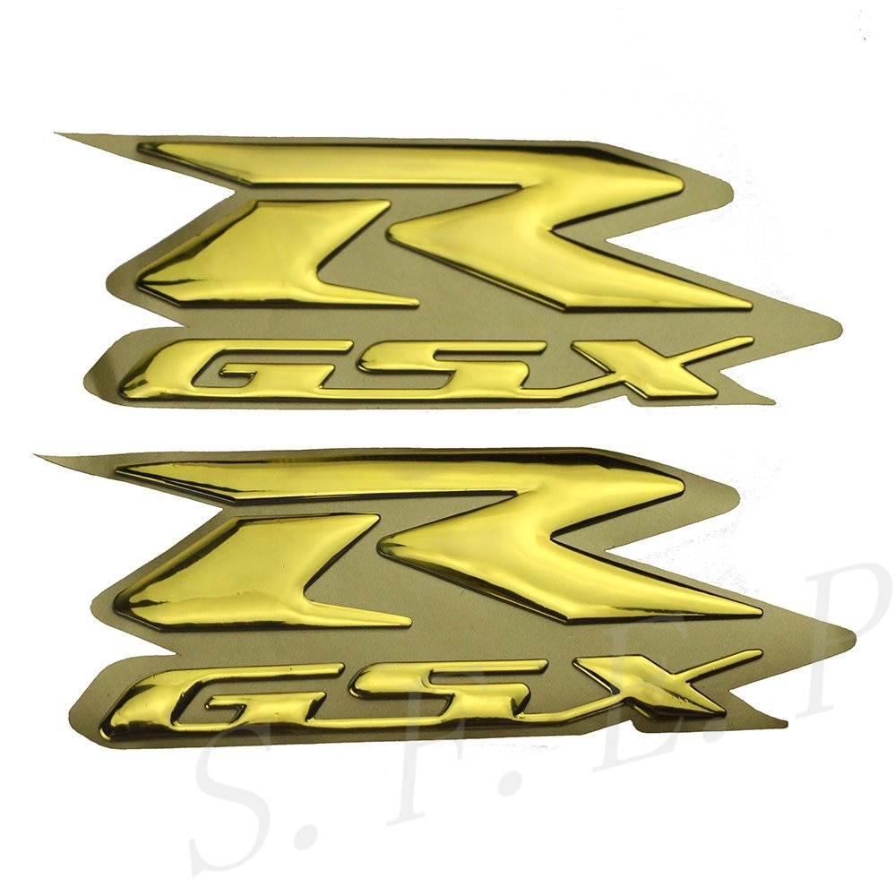 Insignia de la etiqueta del emblema de la etiqueta del GSXR 3D del aumento de la motocicleta para Suzuki GSXR1000/GSXR750/GSXR600