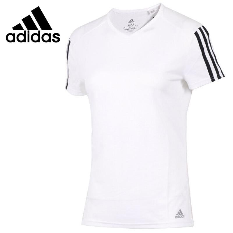 Original New Arrival  Adidas RUN 3S TEE W Women's T-shirts short sleeve Sportswear