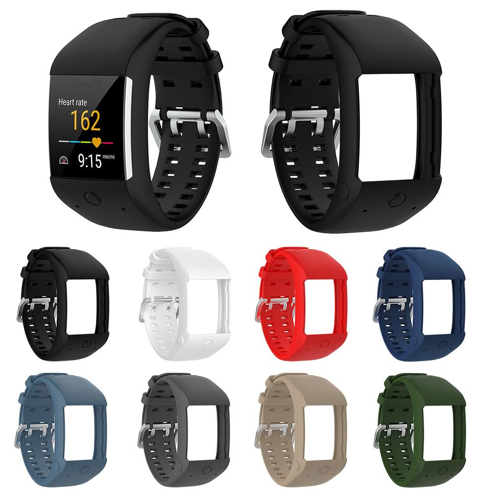 Comfortable Silicone Replacement Watch Band Wrist Strap for Polar M600 Smart Watch Wristband Strap Dropship 8.2 high quality comfortable silicone replacement wrist watch band for polar v800 smart bracelet with tool smart watch strap