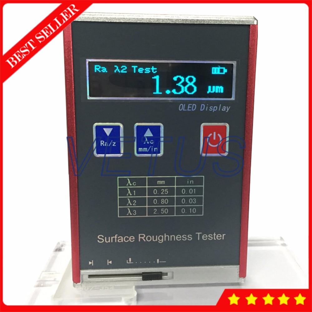 Leeb451 oled شاشة ملونة المحمولة خشونة السطح اختبار السعر مع را rz rq الرايت 4 المعلمات profilometer تستر المقياس