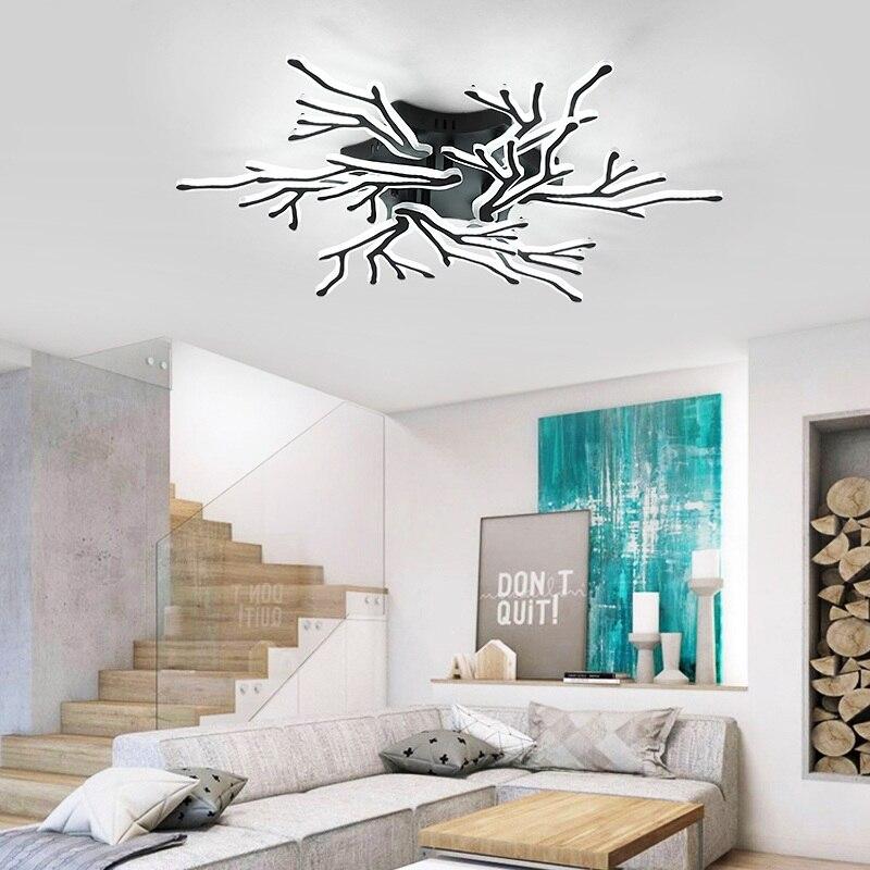 luminarias de teto residenciais para sala de estar sala de jantar estudo led moderna