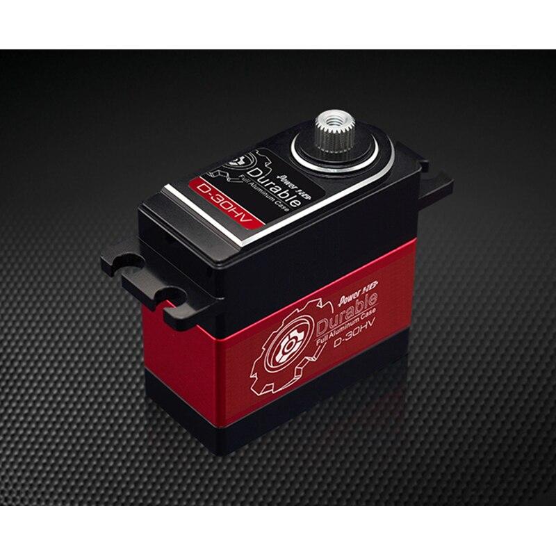 POWER HD D-30HV 30 kilograms of torque all metal climbing car Robot arm simulation steering gear enlarge