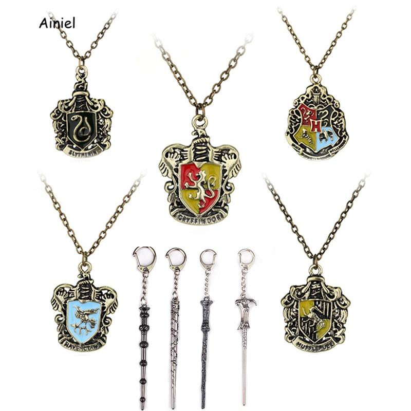 Collar de varita de Hermione, Hogwarts, Albus, Dumbledore, Hufflepuff, accesorio de regalo, Cosplay, fiesta de Halloween, adulta, mujer, niños