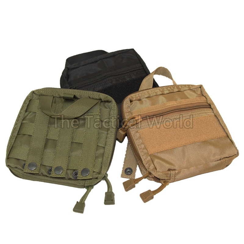 Kit de primeros auxilios MOLLE EMT militar a prueba de agua para caza, bolsa de equipo de supervivencia, Kit táctico Multi médico o cinturón de herramientas de utilidad, bolsa EDC