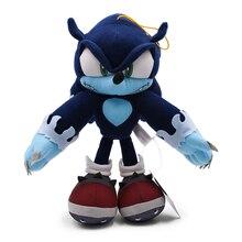"Dark Sonic Soft Toys Doll Stuffed Animal Plush 12""30CM"