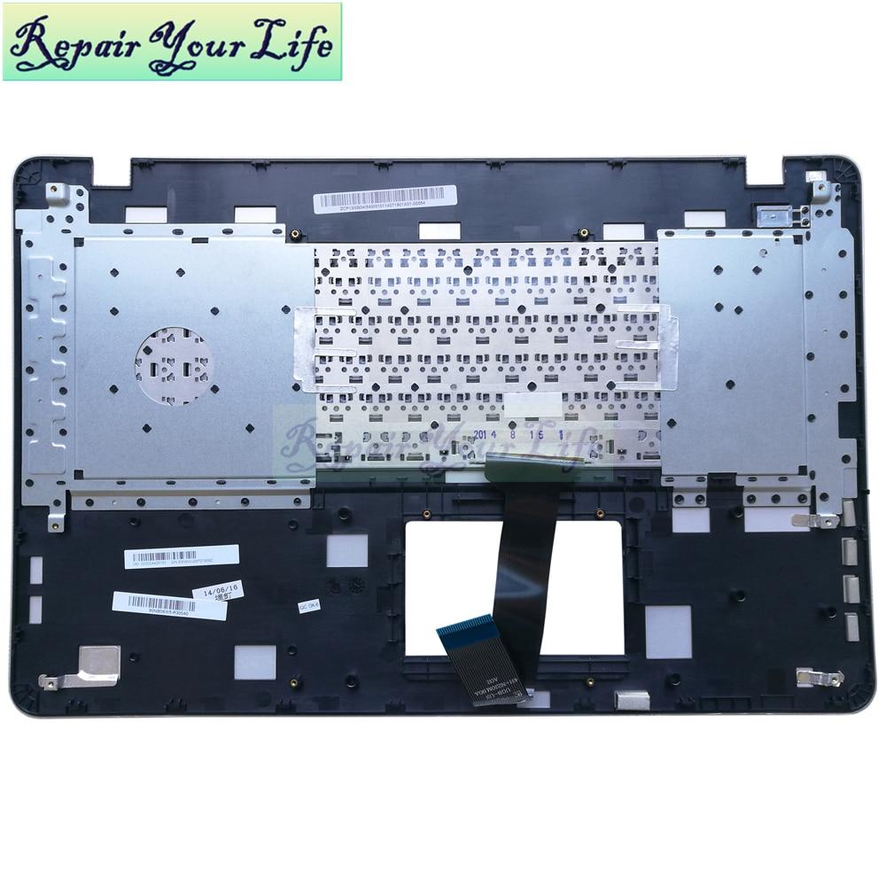 Reparar su vida portátil teclado 90NB06W5-R30040 0KNB0-612NBG00 9Z.NBUSW.00B NSK-WA00B con C shell Original nuevo