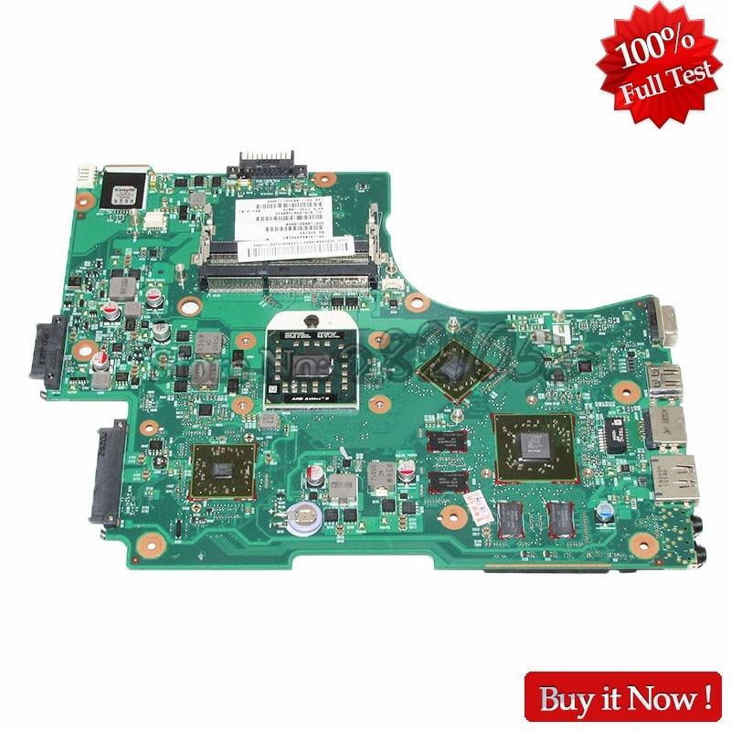 NOKOTION Laptop Motherboard Für Toshiba Satellite L650 L650D Mainboard System board V000218040
