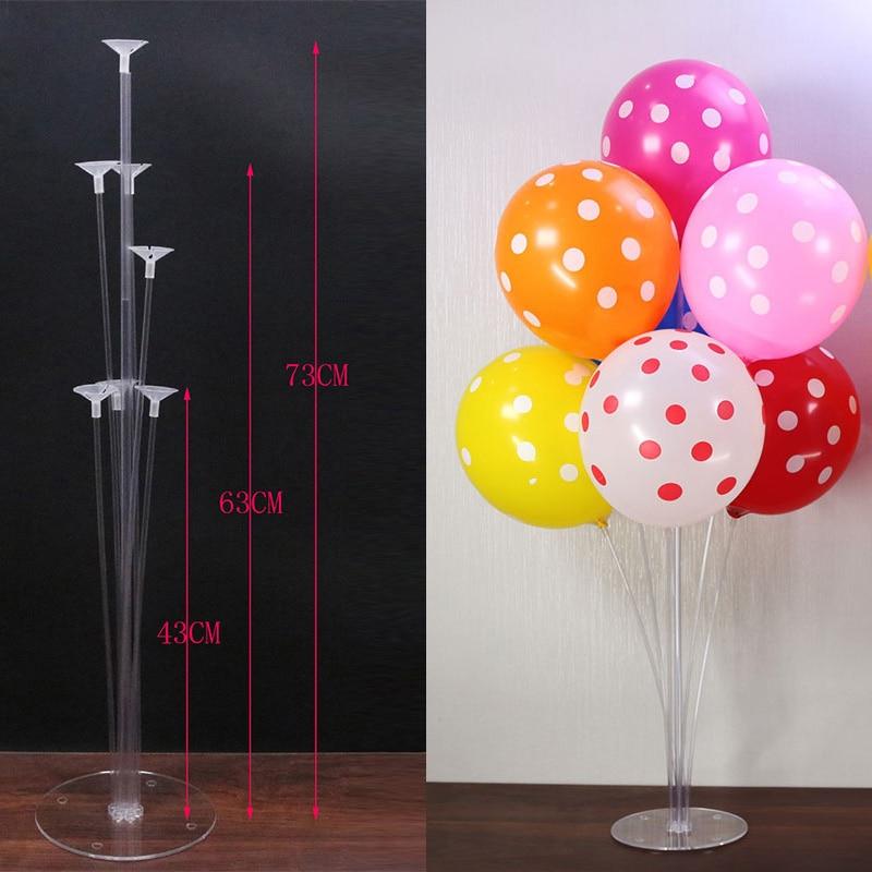 Globos palo arco marco globo titular accesorios fiesta de cumpleaños decoraciones niños fiesta suministros globo decoración de la boda globo