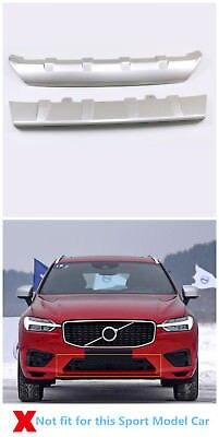 Protector de parachoques delantero + trasero de plástico 2 uds. Para Volvo XC60 2018-2019