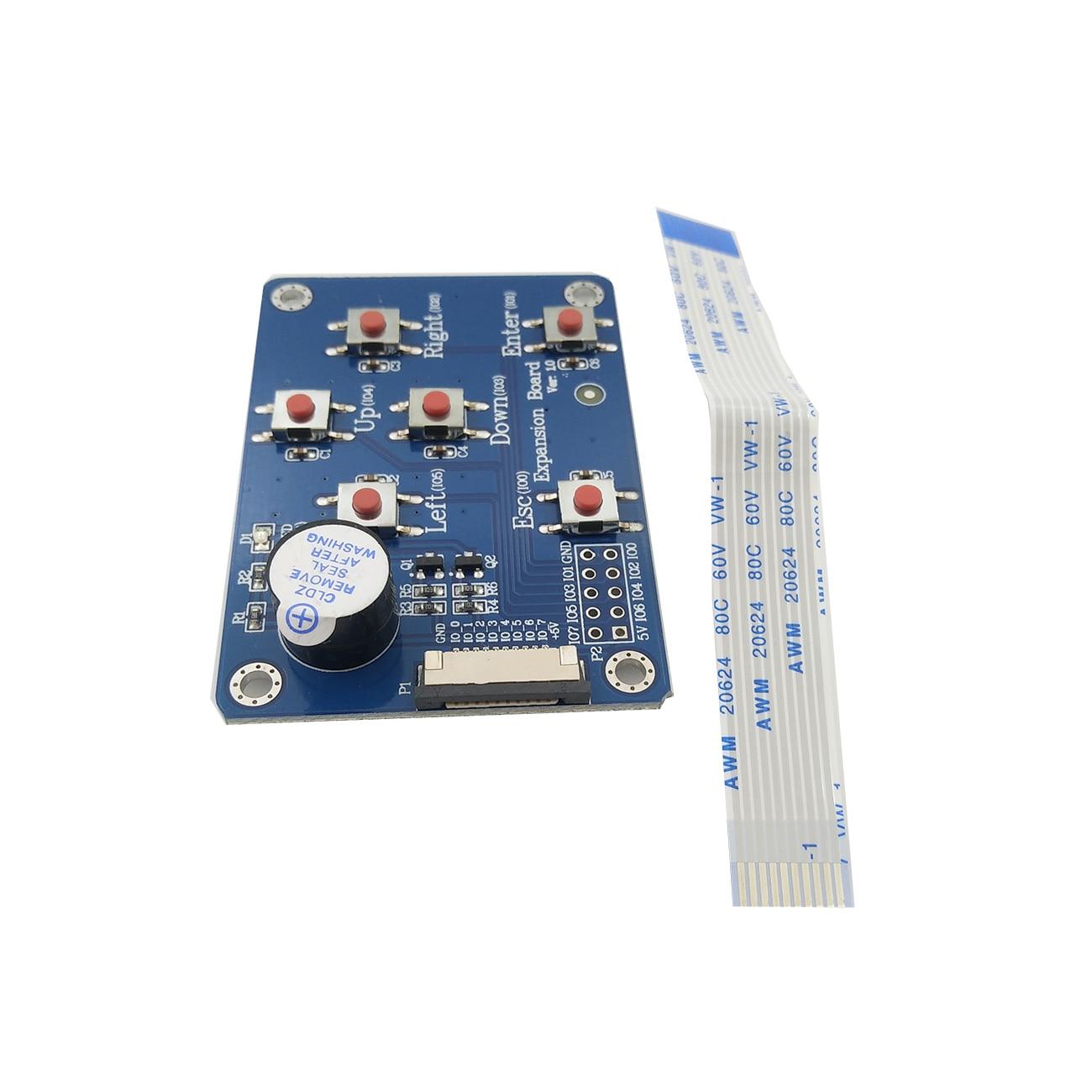"Tablero para 2,4 "", 2,8"", 3,2 "", 3,5"", 4,3 "", 5,0"", 7,0 "","" Nextion mejorado HMI Módulo de visualización inteligente LCD I/O extendido"