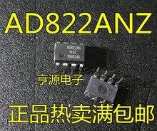10 pièces AD822ANZ AD822AN AD822 DIP-8