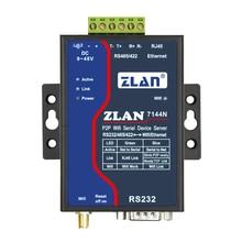 Wireless serial server serial port RS232/485/422 to Wifi P2P ZLAN7144N