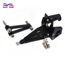 Stabilisateur support damortisseur de volant   De moto, support de volant damortisseur, pour KAWASAKI ER6N ER6F Ninja400R 2009 2010 2011 2009-2011