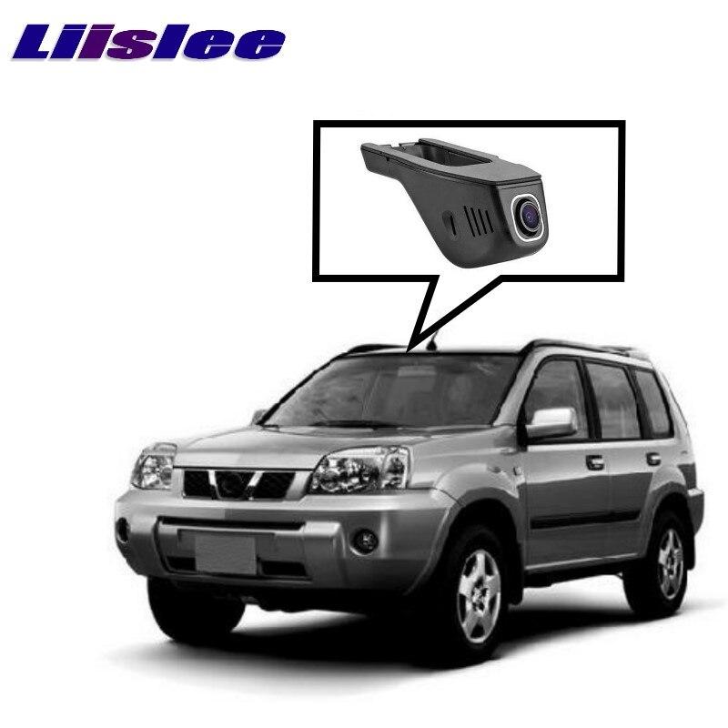 LiisLee, grabador de vídeo de conducción para coche, grabación de ruta, WiFi, DVR, cámara de vídeo para NISSAN X-TRAIL 2007 ~ 2017