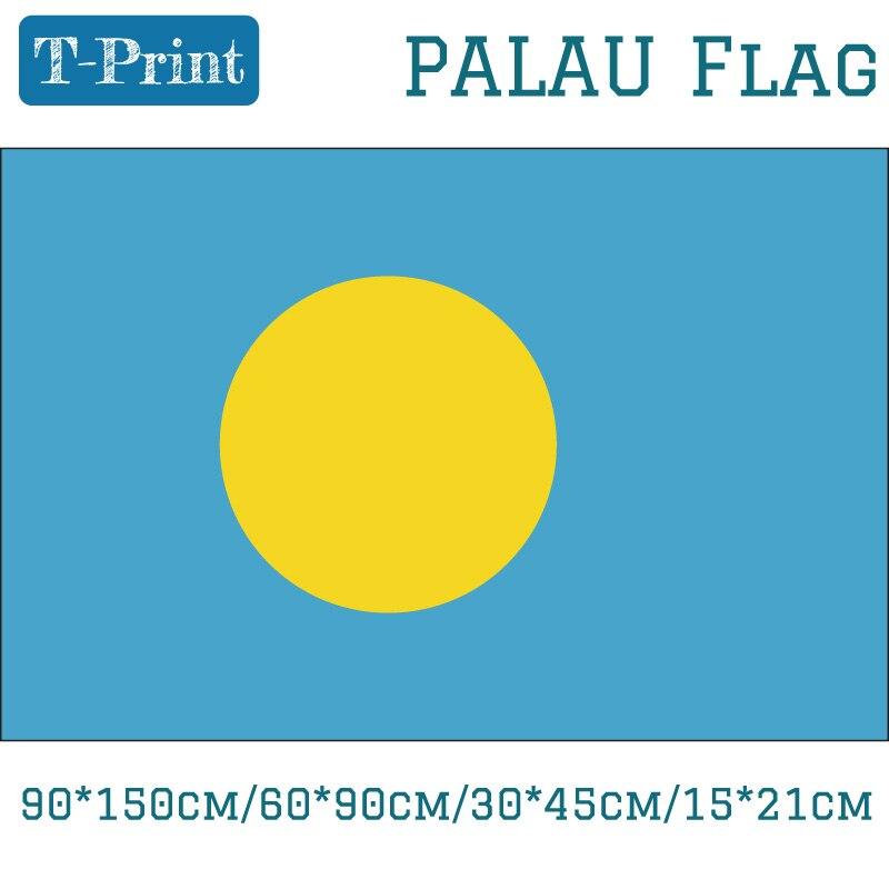Palau Flag 90*150cm/60*90cm/30*45cm/15*21cm