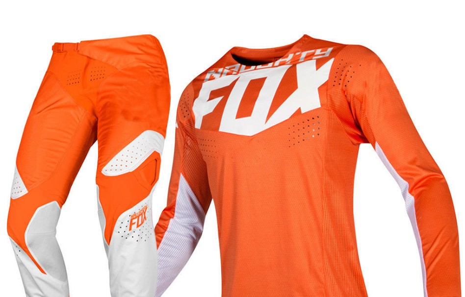 NEW 2019 NAUGHTY Fox MX 360 Kila Orange Jersey Pants Motocross Dirt bike Off Road Adult Racing Gear Set