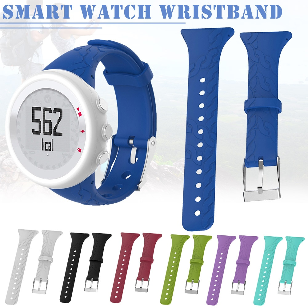 1 Uds correa de reloj de silicona de repuesto para mujer Compatible con SUUNTO M1 M2 M4 M5 M Series LXH