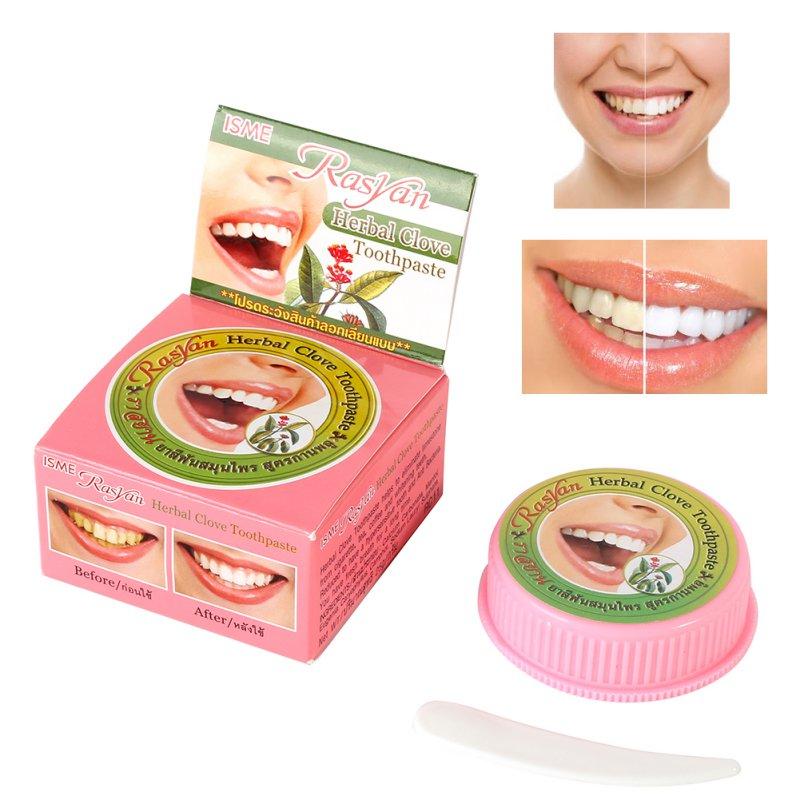 Verbazingwekkende Kruid Tanden Whitening Natuurlijke Kruiden Tandpasta Thai Tandpasta Sterke Formule Tf Vrouwen Beauty Gezondheid