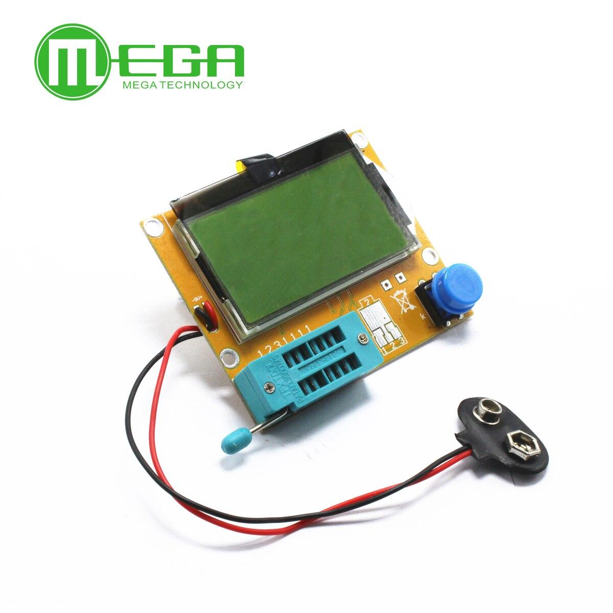 Тестер транзисторов Mega328, 1 шт., измеритель емкости диода, триода, ЭПС, MOS/PNP/NPN L/C/R, исправная работа