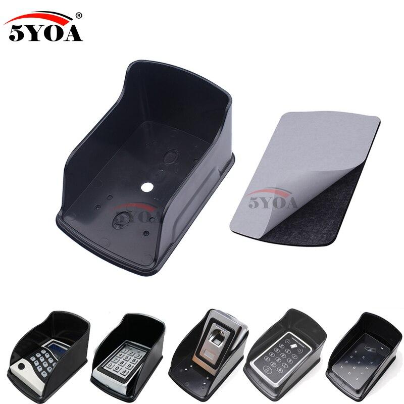 5YOA дождевик черный доступа Управление Лер Водонепроницаемый Обложка непромокаемые основа для Rfid доступа отпечатков пальцев Управление металлическая клавиатура