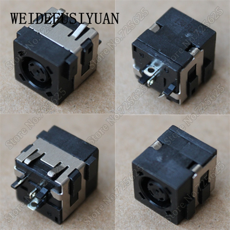 10 Uds DC Power Jack conector hembra para DELL E6330 E6430 E6530 E5530 E5520 E5420 E5430 E4200