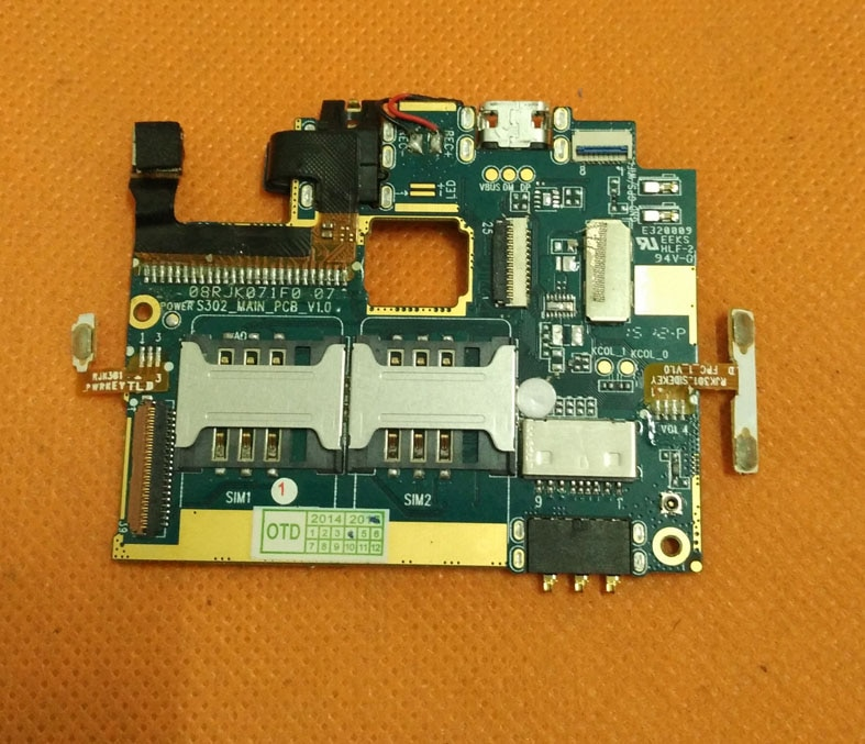 Se placa base Original de 512M RAM + 4G ROM placa base para Leagoo Lead 6 Lead6 MTK6572 Dual Core 4,5 pulgadas envío gratis