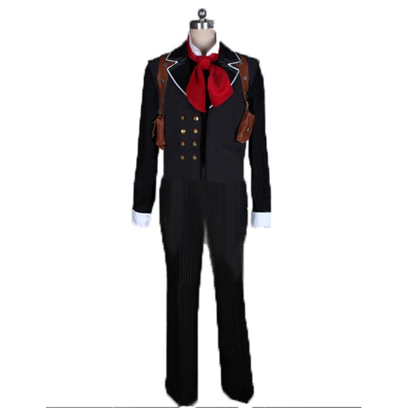 Bioshock infinito booker dewitt cosplay traje com saco