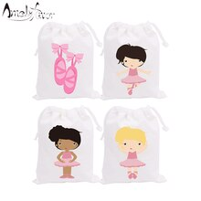 Ballerinas Theme Party Bags Candy Bags Gift Bags Ballet Shoes Girls Decorations Grand Event Birthday