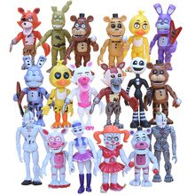 6 шт./компл. 10 см Five Nights At Freddys fnaf Baby Funtime Foxy Funtime Freddy Ballora Ennard Puppet Plushtrap Chica экшн-фигурки