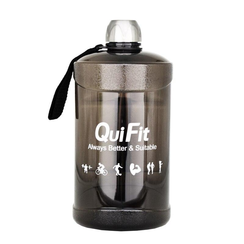 Buildlife 2.2l 73oz grande capacidade garrafa de água plástico esportes ao ar livre treinamento fitness acampamento treino garrafas de água bpa livre