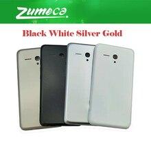 AAA + qualité pour Alcatel One Touch féroce XL OT-5054 5054 5054D OT5054 couvercle de batterie boîtier porte arrière verre 4 couleurs
