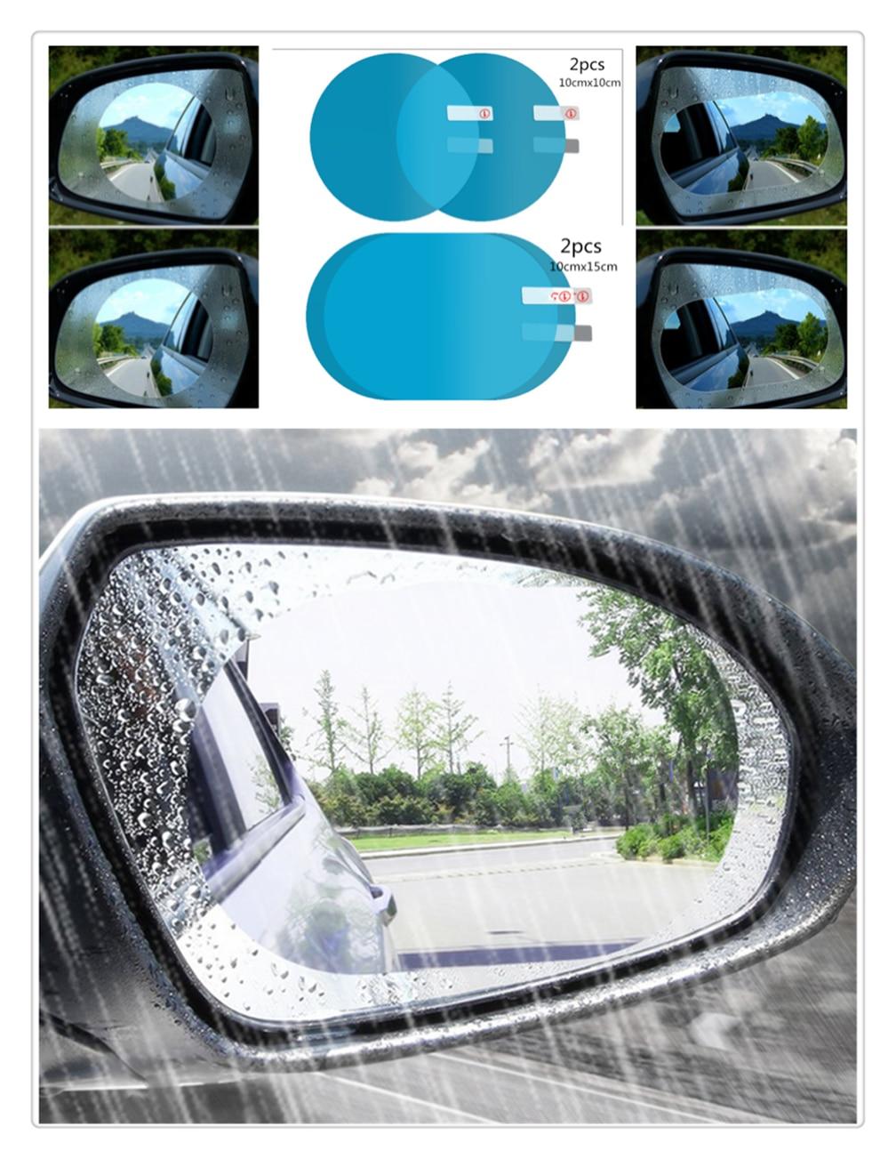 Filme anti-fog espelho retrovisor do carro chuva vara universal para Renault Talismã Trezor Do Alasca Kwid Espace Kangoo