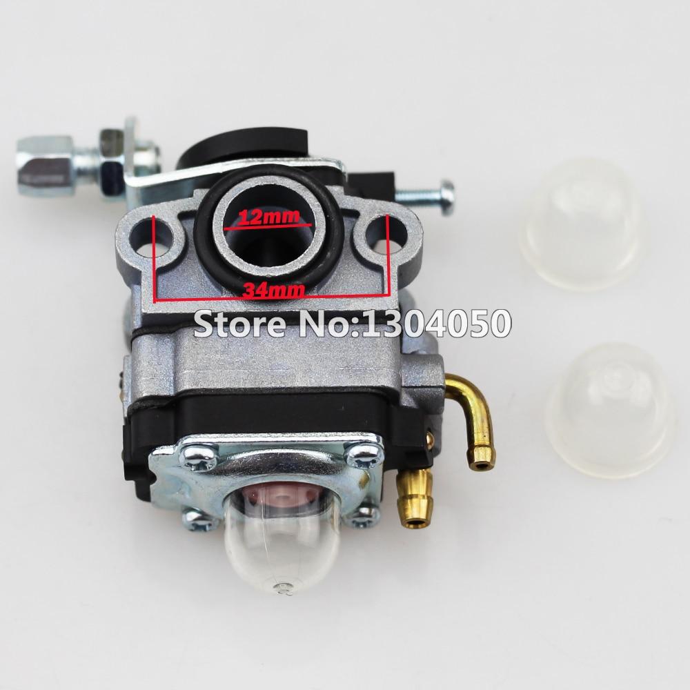 Карбюратор 9 мм, замена walbra Ryobi Shindaiwa Troy-Bilt MTD, газонокосилка, триммер Carb