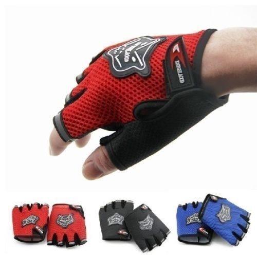 Guantes de ciclismo de medio dedo, guantes tácticos de carreras para bicicleta...