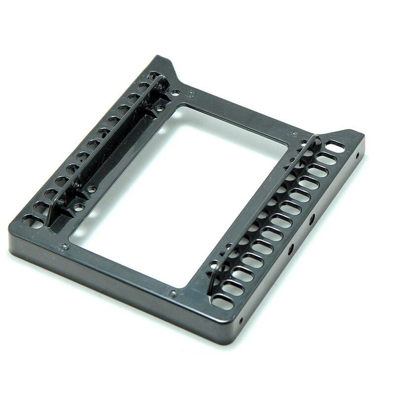 """Dual 2,5 """"SSD SATA HDD a 3,5"""" adaptador de montaje soporte de disco duro para PC 2,5 pulgadas SSD/ cajas de almacenamiento de base de escritorio HDD a 3,5 pulgadas"""